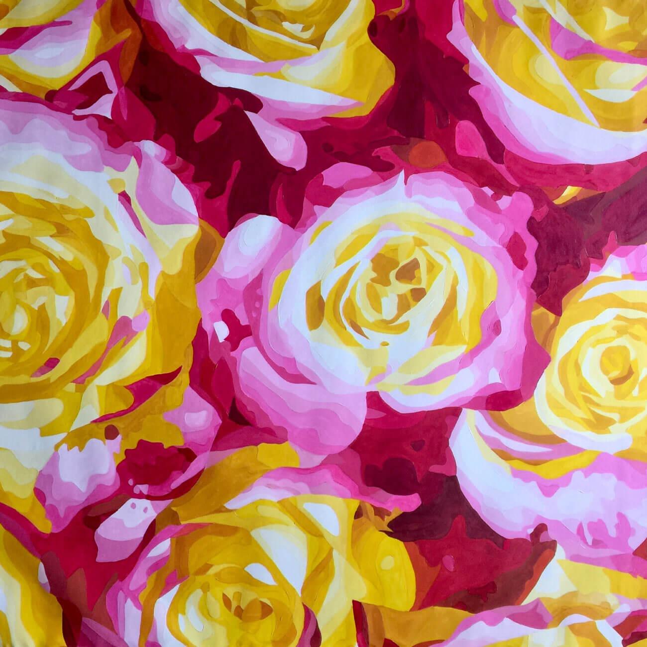 Pintura en óleo sobre lienzo