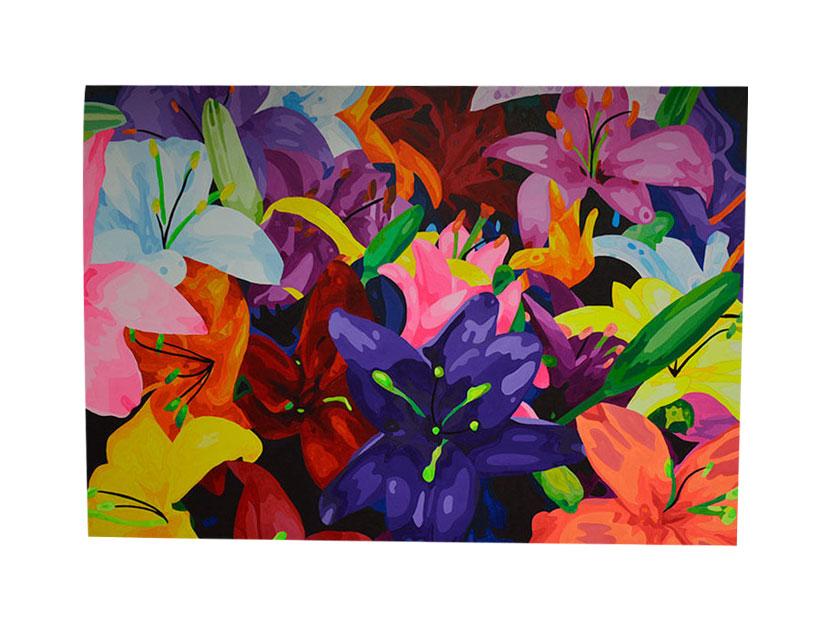 Cuadros de orquideas artistas colombianos. Piedad Tarazona