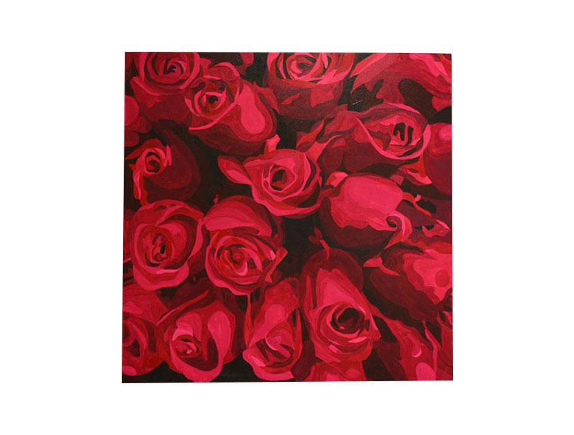 Cuadros de rosas artistas colombianos. Piedad Tarazona