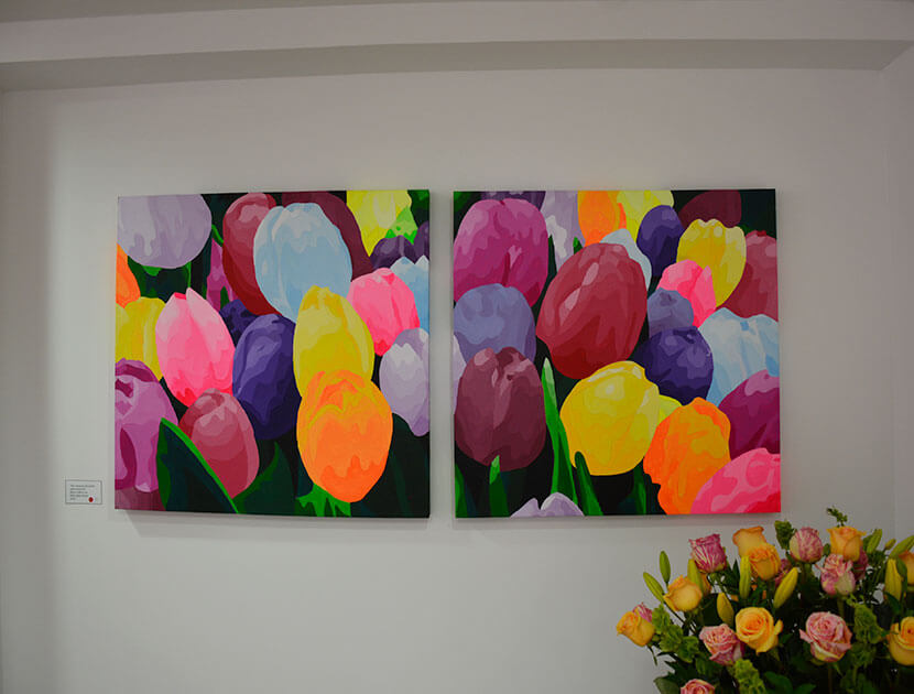 Cuadros de flores Piedad Tarazona