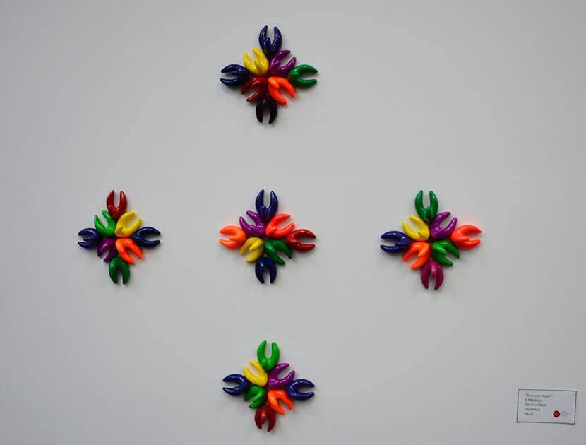 Esculturas en cerámica Piedad Tarazona