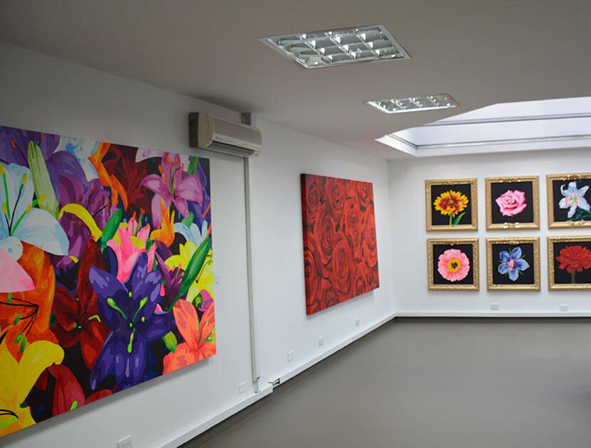 Galería de obras Piedad Tarazona