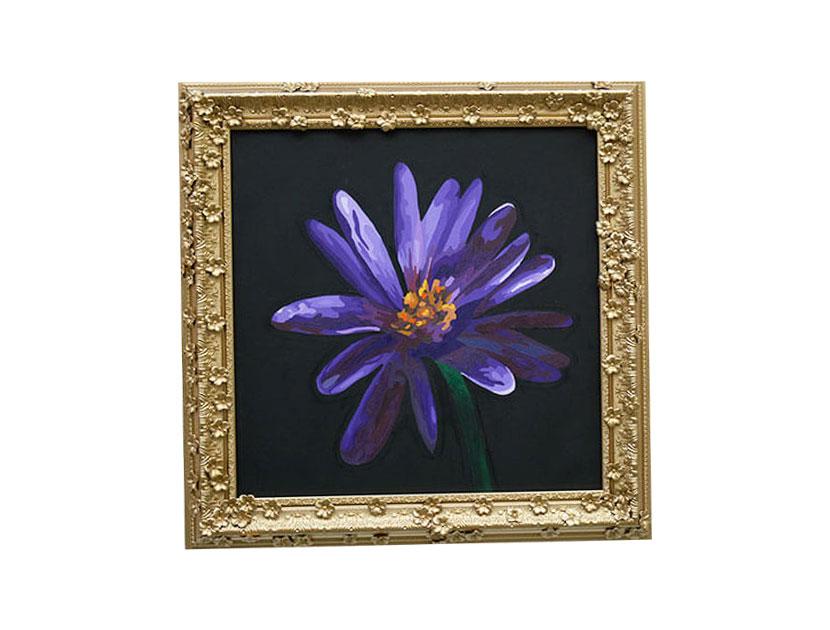 Exhibición de cuadros de flores Piedad Tarazona