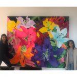 Pinturas de flores Piedad Tarzona